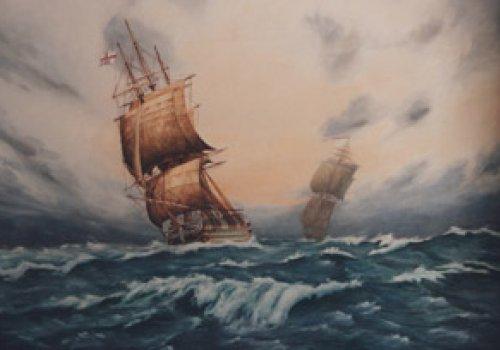 The victory , peinture à l'huile