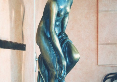 Vénus en faux bronze