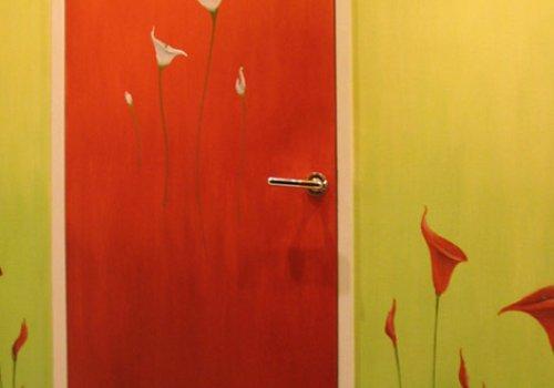 Couloir en couleur et gaité