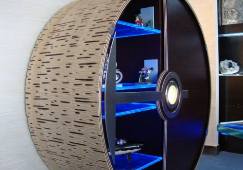 Meuble roue