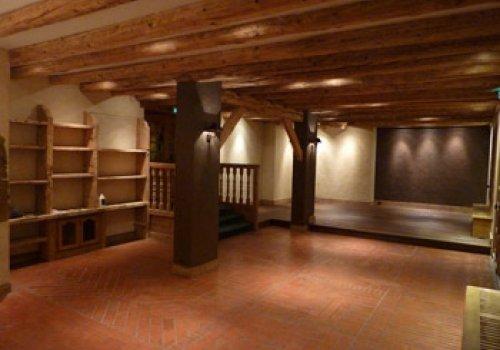 Salon du Chalet du mont d'Arbois