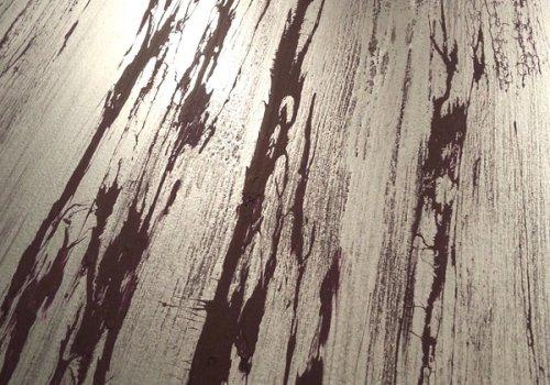Patines « rétractées » argentées